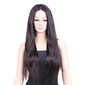 Full Lace Wig With Stretch On The Crown 100% Silky Straight Virgin Hair Wig