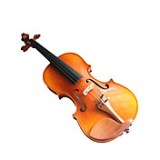 Violintine - (V6) 1/2 High-Grade Solid Spruce & 1-Piece Flame Maple Violin with Case/Bow