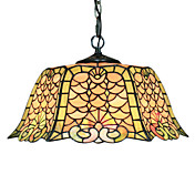 Tiffany 2 - Light Pendent Lights with Glass Shade