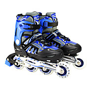 PVC Leather PU Wearproof Retracted Rollerblades Skates Skate Shoes