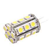 G4 LED Car Light (5050, 4.8W, Lumen (LM) 390, BZ6 Farbtemperatur 6000K, 12V, mit 24 LEDs, White Light)
