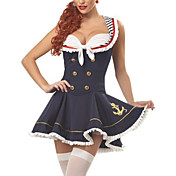 Sexy Sailor Uniform Jobb Halloween Costume (2pieces)