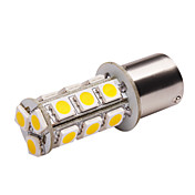 S25 LED Car Light (5050, 3.6W, Lumen (LM) 270, Farbtemperatur 3000K, 12V, mit 18 LEDs, Warm White Light)