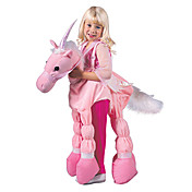 tour rose, un costume de licorne enfant (5-7 ans)