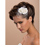 splendido tulle da sposa tre fiori / copricapo