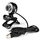 Le Littles Desktop 5.0 Megapixel USB 2.0 Clip-on PC Webcam con microfono
