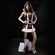 Deluxe Sexy Adult Women`s Vampire  Halloween Costume(2Pieces)