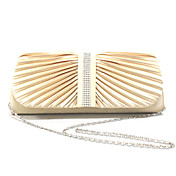 Elegant Polyester with Crystals Evening Handbag/Top Handle Bag(More Colors)