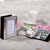 &quot;Little Book Of Memories&quot; Silver Framed Mini Photo Album