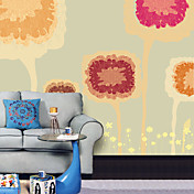 Abstract Contemporary Graphics Kids Rooms Mural