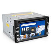Android 6.2 tommers 2DIN Car PC (1GHz 512MDDR3 WIFI 1080P DVB-T)