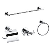 Bathroom Accessory Sets Include Towel Bar,Toilet Roll Holder,Robe Hook and Towel Ring