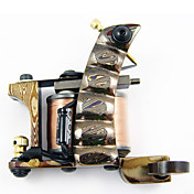 Unique Authentic Handmade Damascus Tattoo Machine for Both Liner and Shader