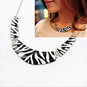 Women's Zebra Stripe Choker