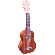 Hanknn - Sapele Soprano Ukulele with Gig Bag