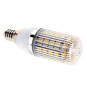 E14 7W 36x5050 SMD 700-750LM 2700-3200K Warm White Light LED Corn Bulb (85-265V)