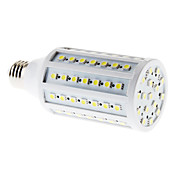 E27 15W 86x5050 SMD 1200-1260LM 6000-6500K Natural White Light LED Corn Bulb (220-240V)