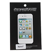 Protective Clear Screen Protector mit Reinigungstuch fr Nano 7