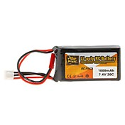 1000mAh 7.4V 20c Lipo batteri for RC-modellen