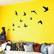 Fugler som flyr Wall Art Wall Stickers