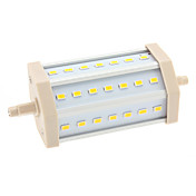 R7S 10W 21x5630 SMD 900-1000LM 3000-3500K Warm White Light LED Corn Bulb (85-265V)
