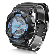 Silicone Band Multi-Movement Sport Watch (Blue)