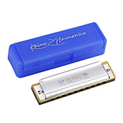 Kaine - (k1002) Blues Harp harmonica c key/10 holes/20 tons