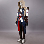 cosplay costume inspiré par l'assassin creed iii connor uniforme assassin
