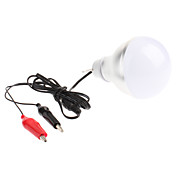 6W 560-600LM 7000K Cold White Light LED Ball Bulb (12V)