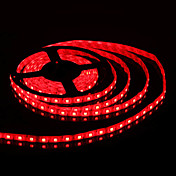 Waterproof 5M 300x5050 SMD Red Light LED Strip Lamp (12V)