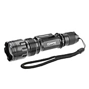 SIPIK SFL-8330 Fokus Einstellbare Zoom 5-Mode Cree XM-L T6 LED-Taschenlampe (10w, 1000LM, 1x18650)