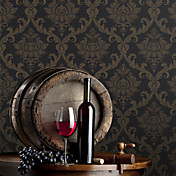 Retro Damask Fiberdug Wall Paper 1301-0015