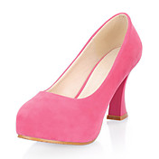 Gorgeous Leatherette Chunky Heel Closed Toe Party / Evening Shoes(More Colors)