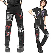 Devil Sort bomuld Punk Lolita Pants
