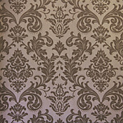 Retro Damask Fiberdug Wall Paper 1301-0039