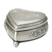 Personalisierte Schne Dekorative Pattern Tin Alloy Damen Jewelry Box
