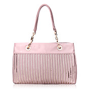 Fashion PU with Sequins Casual Shoulder Handbag/Top Handle Bag