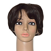 Lace Front Short Kinky Straight High Quality Synthetic Hair Wigs