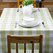 Solid Color Plaid Table Cloth