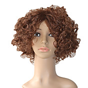 Capless 10 Inch Kinky Curly High Quality Synthetic Hair Wigs