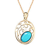 Lovely Alloy With Imitation Opal Women's Necklace (More Colors)