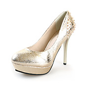 Chic Leatherette Stiletto Heel Pumps With Beading Party / Evening Shoes (More Colors)