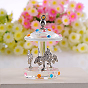 Cute Crystal Merry-go-round Favor