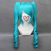 Cosplay Wig Inspired by Vocaloid-From The Sandplay Singing of The Dragon Megurine Miku