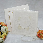 Elegant Floral Design Wedding Invitation (Set of 50)
