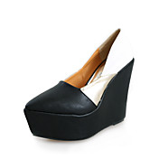 Leatherette Wedges With Split Joint Party / Evening Shoes (More Colors)