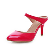 Patent Leather Stiletto Heel Peep Toe Party / Evening Shoes (More Colors)
