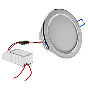 Dimmable 7W 630LM 6000-6500K Natural White Light Silver Shell LED Ceiling Bulb (220V)