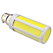 B22 7W 630LM 6000-6500K Natural White Light COB LED Corn Bulb (220V)