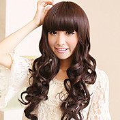 Zipper Brown 80cm Sweet Lolita Wave Wig